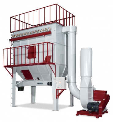 Jet Pulse Bag Dust Collector